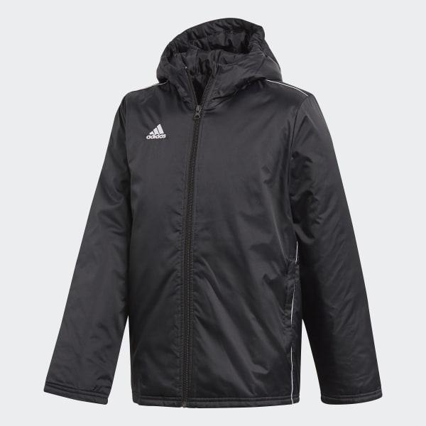 af0338df7ba adidas Core 18 Stadium Jacket - Black   adidas Australia