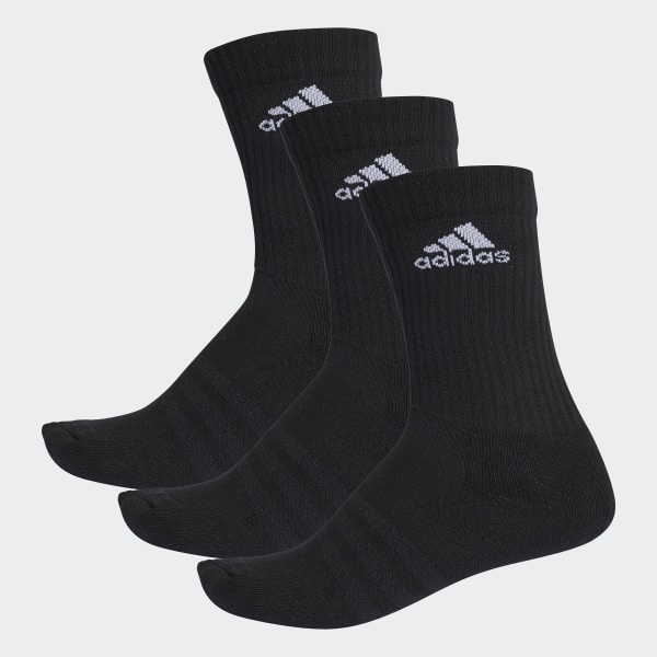 a6012b109ff adidas 3-Stripes Performance Crew Socks - Black | adidas Canada