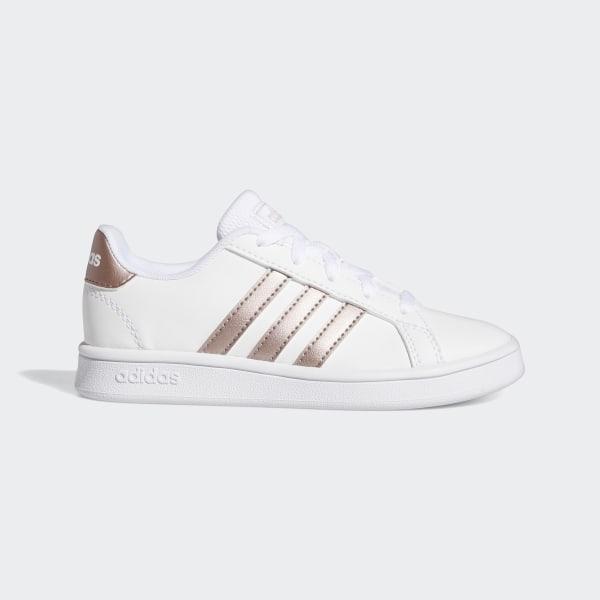 Chaussure femme blanche Grand Court Adidas