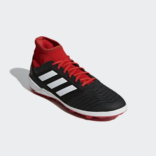6612aa9d3ca Predator Tango 18.3 Turf Boots Core Black   Ftwr White   Solar Red DB2135