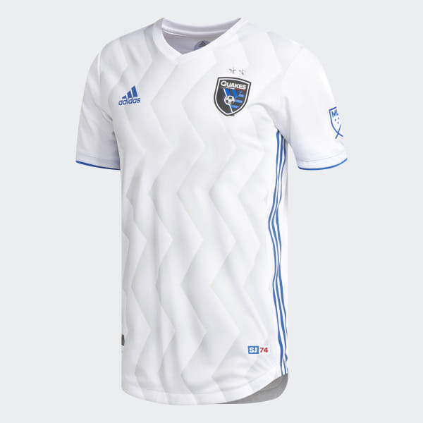 pretty nice f436b 420ea adidas San Jose Earthquakes Away Authentic Jersey - White | adidas US