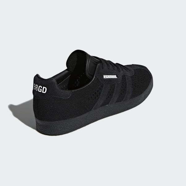 premium selection 773b6 13ca0 NEIGHBORHOOD Gazelle Super Shoes Core Black   Core Black   Core Black DA8836