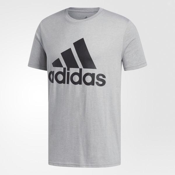 5b64569a adidas Badge of Sport Big and Tall Classic Tee - Grey   adidas US