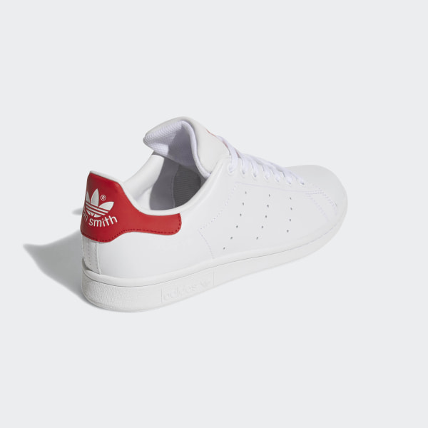 newest 0d89c 31724 Stan Smith Shoes Cloud White   Cloud White   Collegiate Red M20326