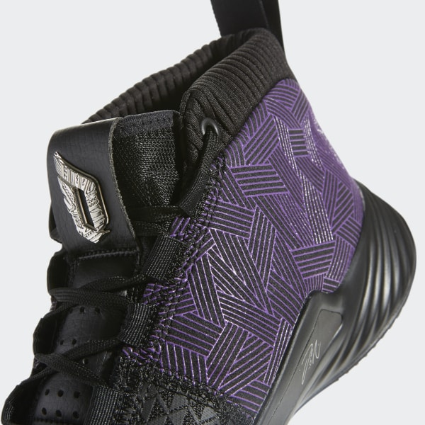 a9c31adc5ab Marvel's Black Panther | Dame 5 Shoes Core Black / Active Purple / Silver  Metallic EF2259