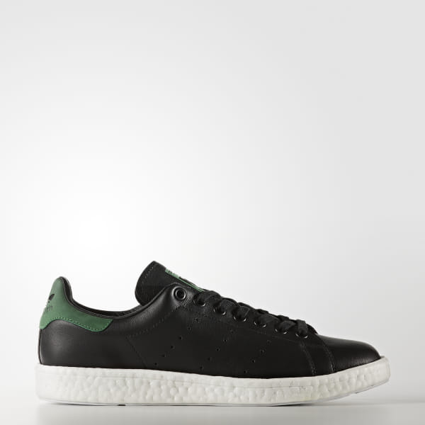2c291dc0ab3 Stan Smith Boost Shoes Core Black / Core Black / Green BB0009