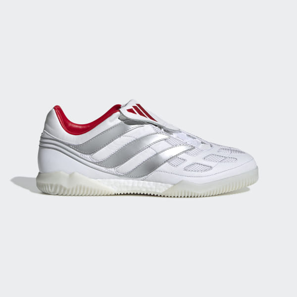 936d0234f Predator Precision David Beckham Shoes Cloud White / Silver Metallic /  Predator Red F97224