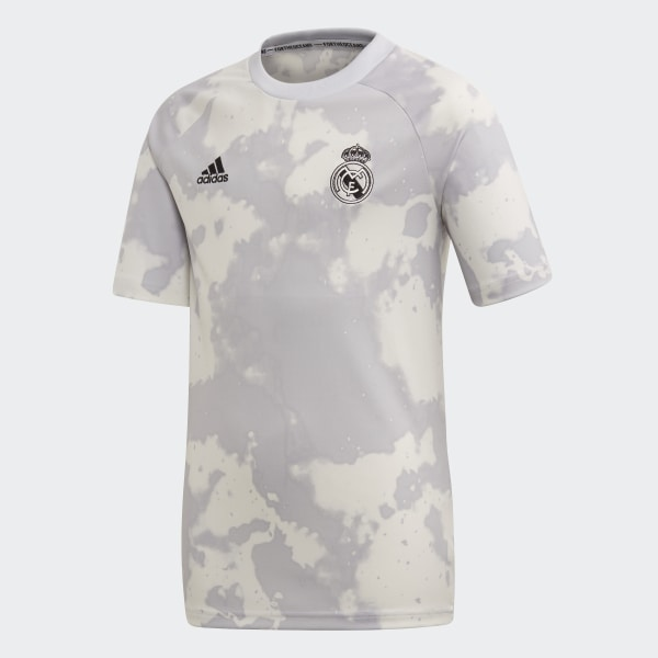 24ba2994e Real Madrid Pre-Match Jersey Clear Grey / White FL7866