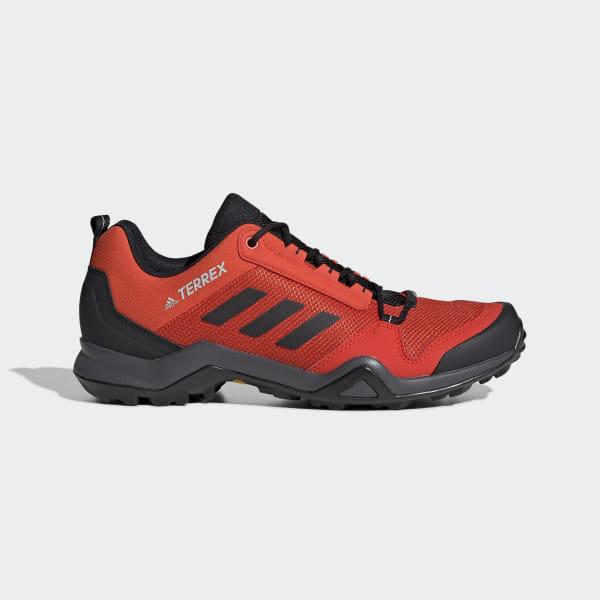 0a4a9710 Zapatillas TERREX AX3 Active Orange / Core Black / Grey Two BC0528