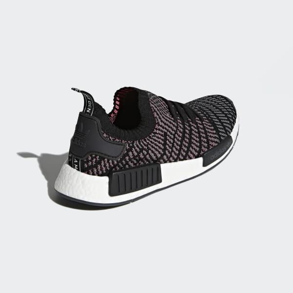 sports shoes cf49b c212e adidas NMD_R1 STLT Primeknit Shoes - Black | adidas US