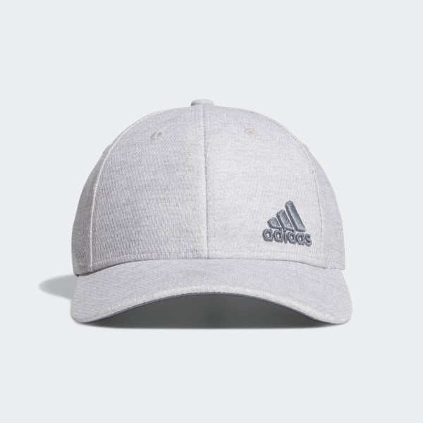 fa34df36b8 adidas Release Plus Stretch Fit Hat - Grey | adidas US
