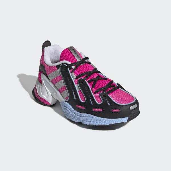EQT Gazelle Schoenen Shock Pink / Silver Met. / Glow Blue EE5150