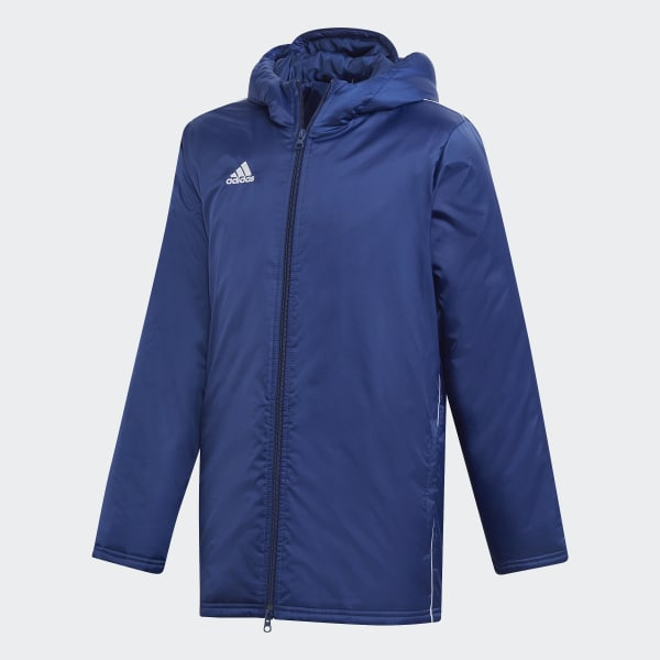 buy online 7a22a 10b24 adidas Core 18 Stadium Jacket - Blue | adidas New Zealand