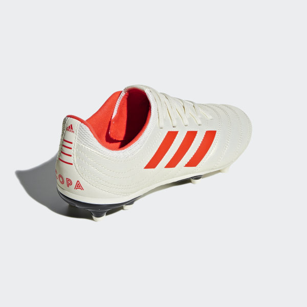 buy online a94af a9d38 Copa 19.3 Firm Ground Boots Off White   Solar Red   Core Black D98082