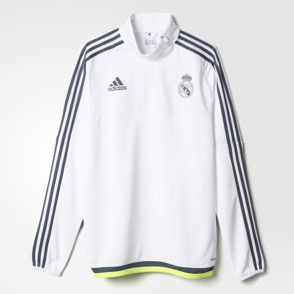 c0139b93 adidas Buzo de entrenamiento del Real Madrid - Blanco | adidas Colombia