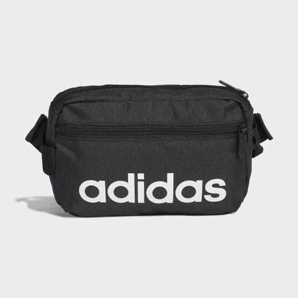 7dbaf1699adb0 Linear Core Waist Bag Black   Black   White DT4827