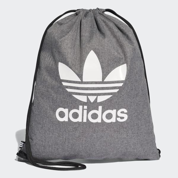 2bb65c1333869 Drawstring Bag Grey   White D98929