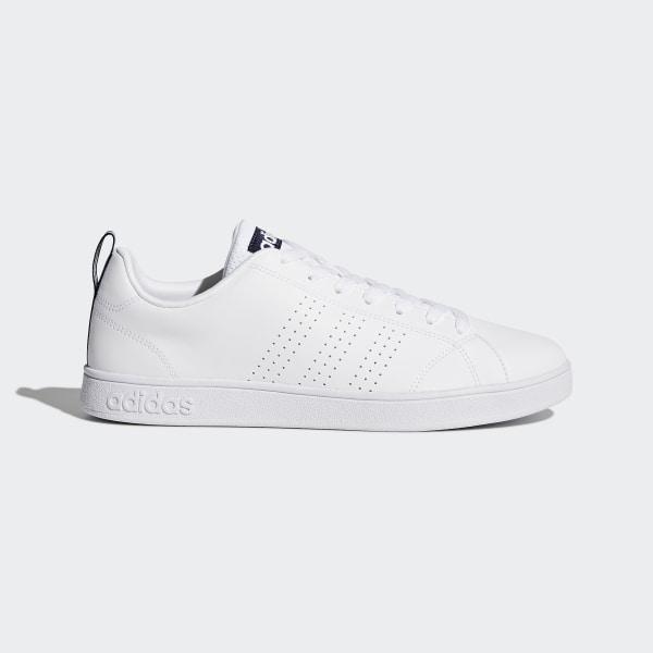 e21574f16a8d VS Advantage Clean Shoes Ftwr White   Ftwr White   Collegiate Navy F99252