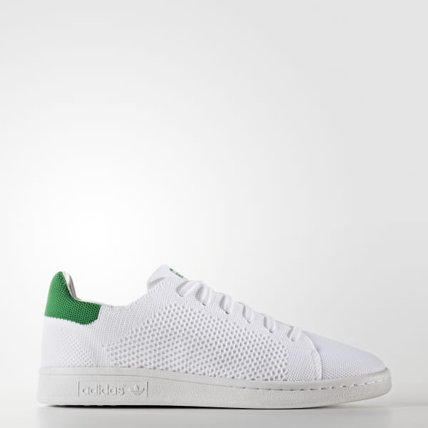 adidas Stan Smith Primeknit Shoes - White | adidas US