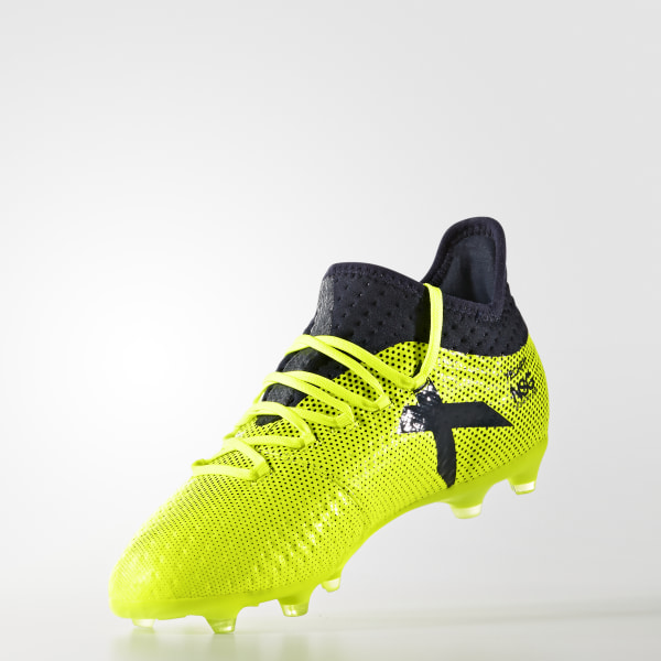 pick up f9d3d 3cd17 adidas X 17.1 Firm Ground Boots - Yellow | adidas UK