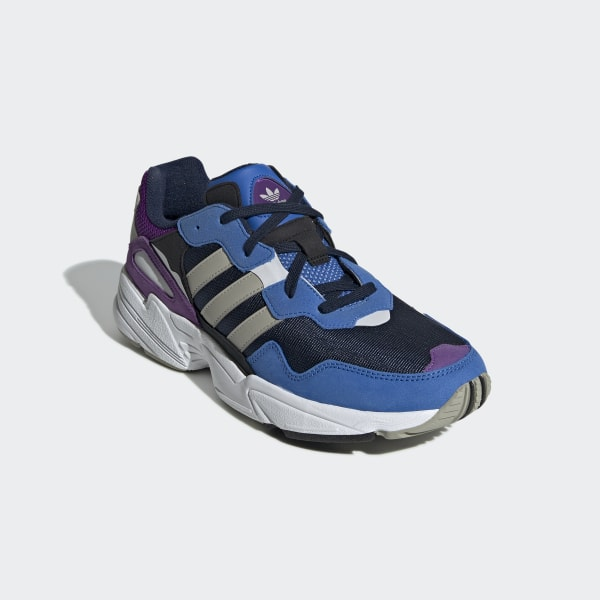 Women's Navy And Blue Yung 96 Trainers