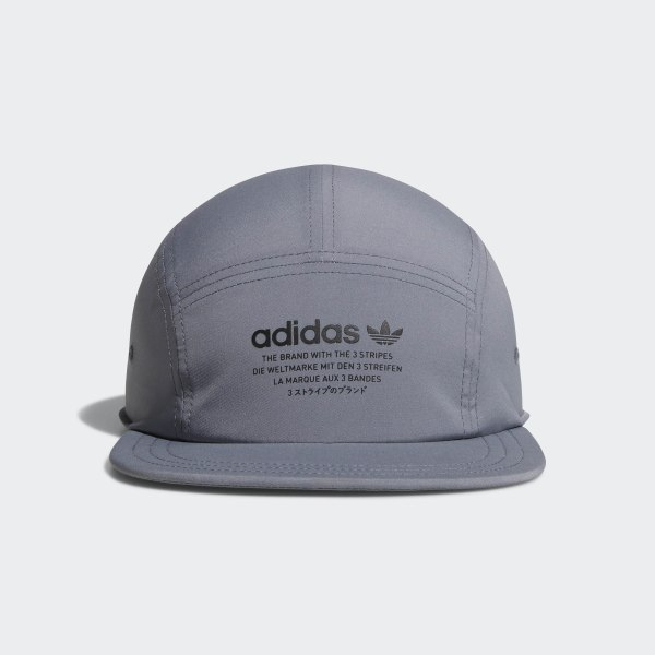 hot sale online 74fc2 f2671 NMD 5-Panel Hat Grey CI8475