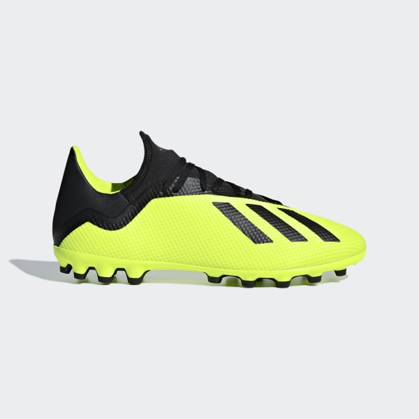 63c964eea X 18.3 Artificial Grass Boots Solar Yellow / Core Black / Ftwr White AQ0707