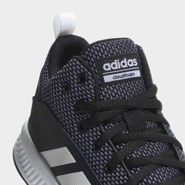 bb197575025f Cloudfoam Ilation Mid 2.0 Shoes Core Black   Cloud White   Grey DA9847