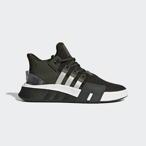 outlet store e9ae5 11830 adidas EQT Bask ADV Shoes - Green | adidas New Zealand