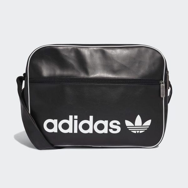2d8ab99600 adidas Vintage Airliner Bag - Black | adidas UK