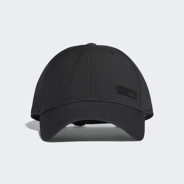 san francisco db1b0 871b3 Classic Six-Panel Lightweight Cap Black   Black   Black S98158