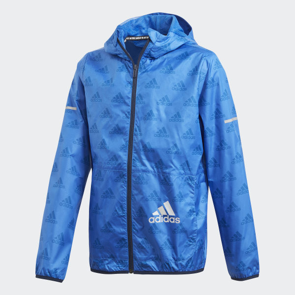 newest f69ad 5a715 Giacca a vento Must Haves Plain - Blu adidas | adidas Italia