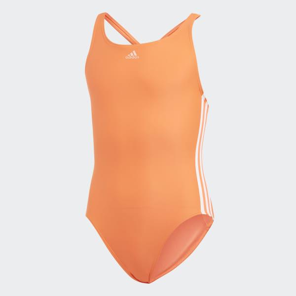 Maillot de bain Athly V 3 Stripes Orange adidas   adidas France