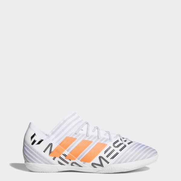 66466ef2f Chuteira NEMEZIZ Messi Tango 17.3 Futsal FTWR WHITE/SOLAR ORANGE/CORE BLACK  CG2967