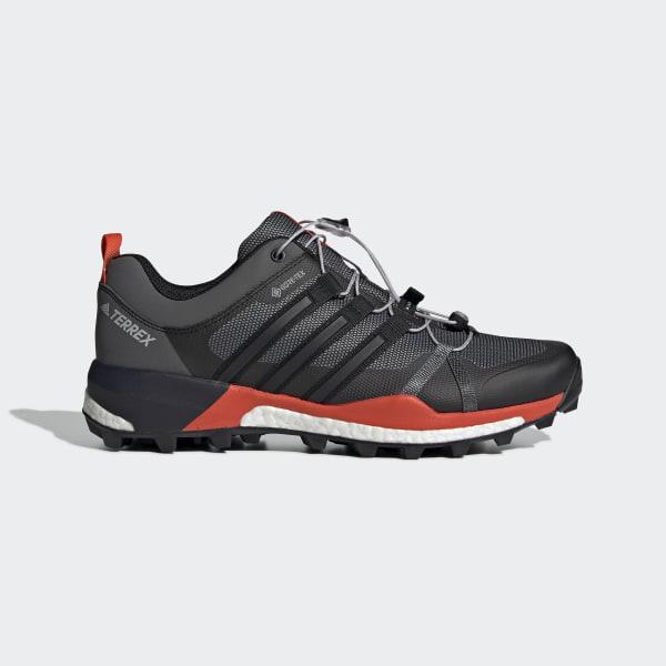 53b74e2c Обувь для трейлраннинга Terrex Skychaser GTX grey three f17 / core black /  active orange F35742