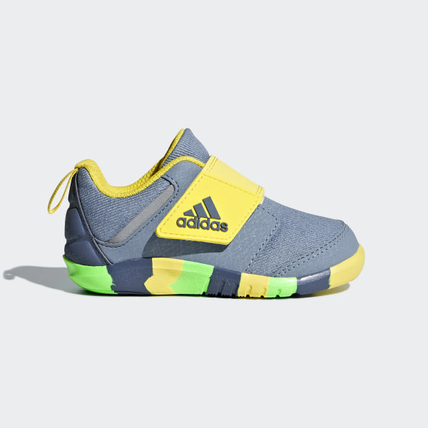 brand new 5bbf5 8318c FortaPlay Shoes Raw Grey / Tech Ink / Shock Yellow AH2426