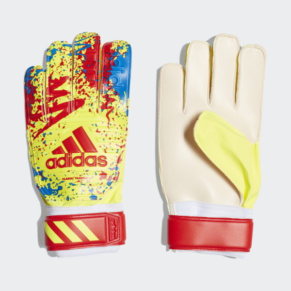 08d2776b21 adidas Classic Training Gloves - Yellow | adidas US