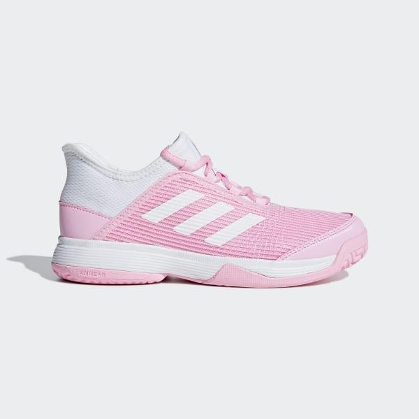 7b255a99971454 Adizero Club Schoenen True Pink / Cloud White / Cloud White BD8040