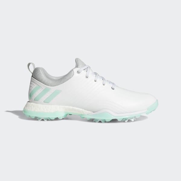 pretty nice fb7ae a8e63 Adipower 4orged Shoes Ftwr White   Clear Mint   Clear Onix DA9745