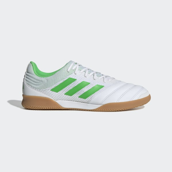 bb6b81a6f9 Copa 19.3 Indoor Sala Fotbollsskor Ftwr White / Solar Lime / Gum M1 BC0559