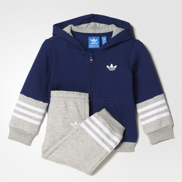 ea6a528fadd4 adidas Pants con Sudadera para Bebé - Azul | adidas Mexico