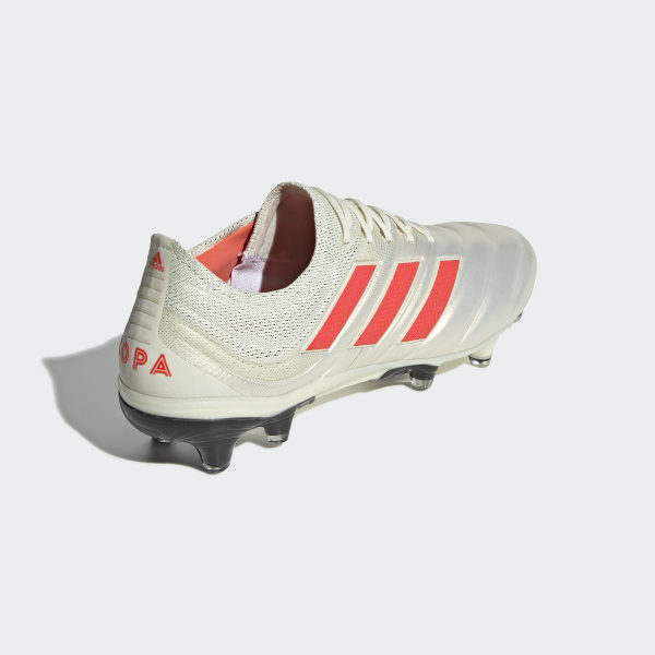 86c4243bb Copa 19.1 Firm Ground Cleats Off White   Solar Red   Core Black BB9185