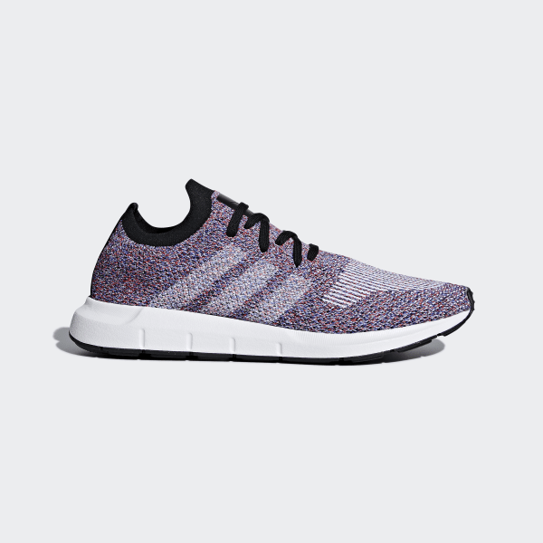 4618d0dbb2b Swift Run Primeknit Shoes Purple / Hi-Res Red / Ftwr White / Core Black