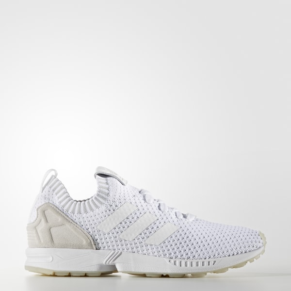 new product fe606 bb830 adidas ZX Flux Primeknit Shoes - White | adidas Australia