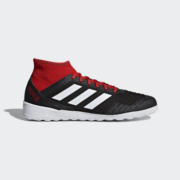 d7318846b Predator Tango 18.3 Indoor Boots Core Black / Cloud White / Red DB2128
