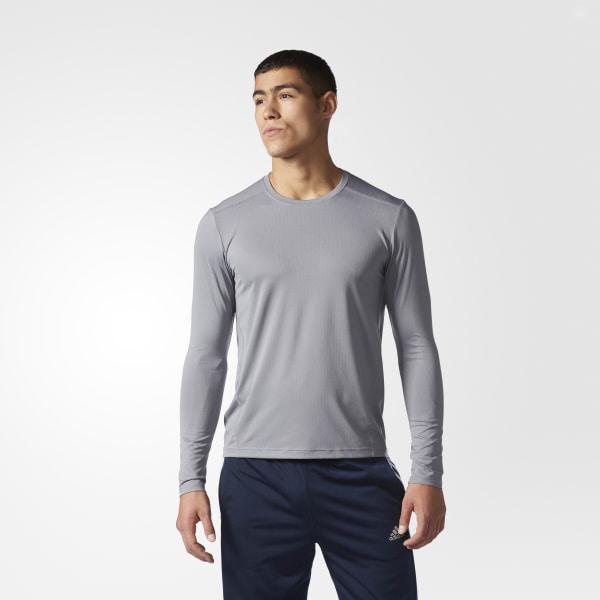 218afaae adidas Climacool Single Crew Tee - Grey | adidas US