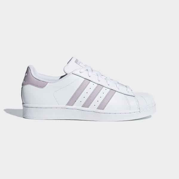 adidas Superstar blanche et violet Chaussures adidas