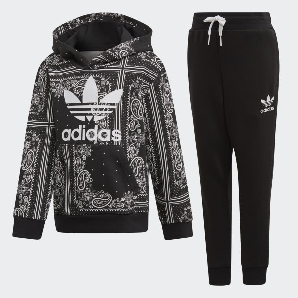 dea668755 adidas Bandana Hoodie Set - Black | adidas Belgium