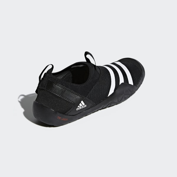 best service 9ea9b 62002 Climacool Jawpaw Slip-On Shoes Core Black   Cloud White   Silver Metallic  M29553
