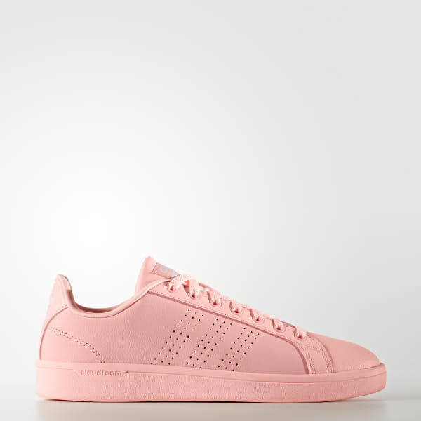 0f546880194 adidas Cloudfoam Advantage Clean Shoes - Pink | adidas US